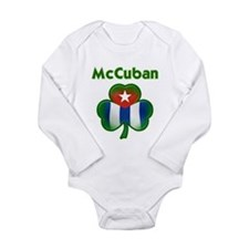 Cuban Long Sleeve Infant Bodysuit