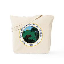 Indiana State Seal Tote Bag