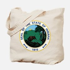 Indiana State Seal Tote Bag
