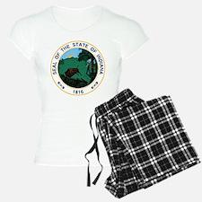 Indiana State Seal Pajamas