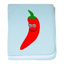 Red Chili Pepper baby blanket