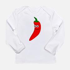 Red Chili Pepper Long Sleeve Infant T-Shirt