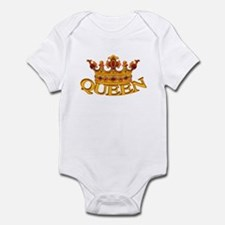 QUEEN crown Infant Creeper