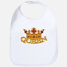 QUEEN crown Bib