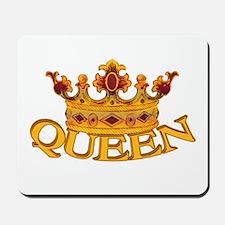 QUEEN crown Mousepad