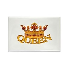 QUEEN crown Rectangle Magnet