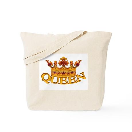QUEEN crown Tote Bag