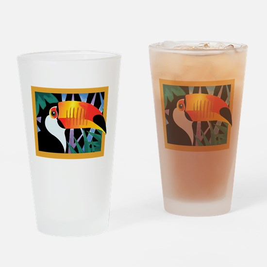 Toucan Tango Drinking Glass