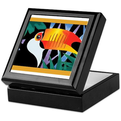 Toucan Tango Keepsake Box
