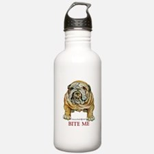 Bulldog Bite ME Water Bottle