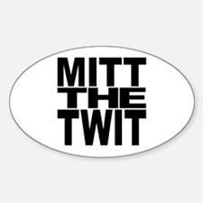 Mitt The Twit Decal