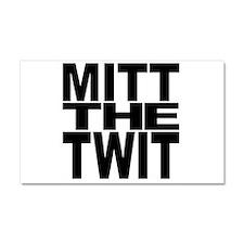 Mitt The Twit Car Magnet 20 x 12