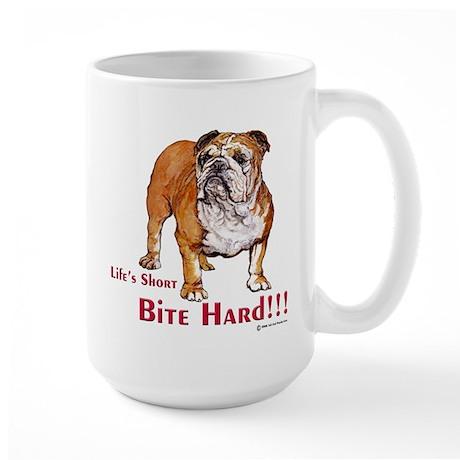 Bulldog Life Large Mug