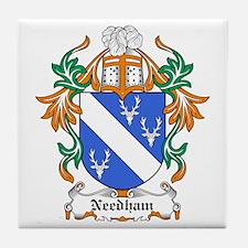 Needham Coat of Arms Tile Coaster