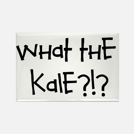 What the kale?!? Rectangle Magnet