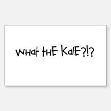 What the kale Sticker (Rectangle)