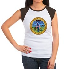Iowa State Seal Women's Cap Sleeve T-Shirt