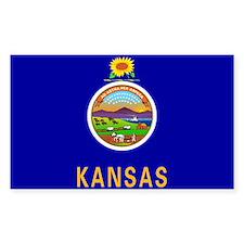Kansas State Flag Decal