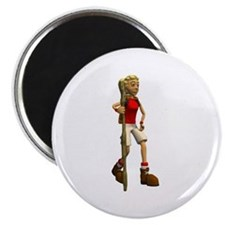 Cute Funny hiking Magnet