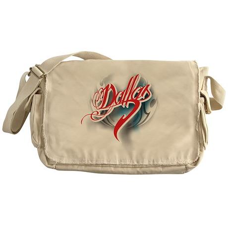 Dallas ink Messenger Bag