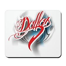Dallas ink Mousepad