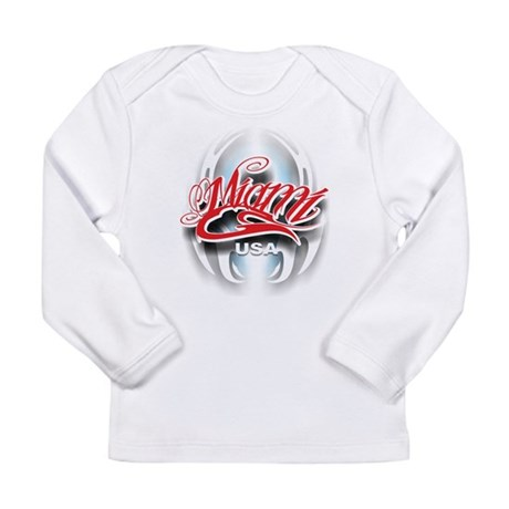 Miami ink Long Sleeve Infant T-Shirt