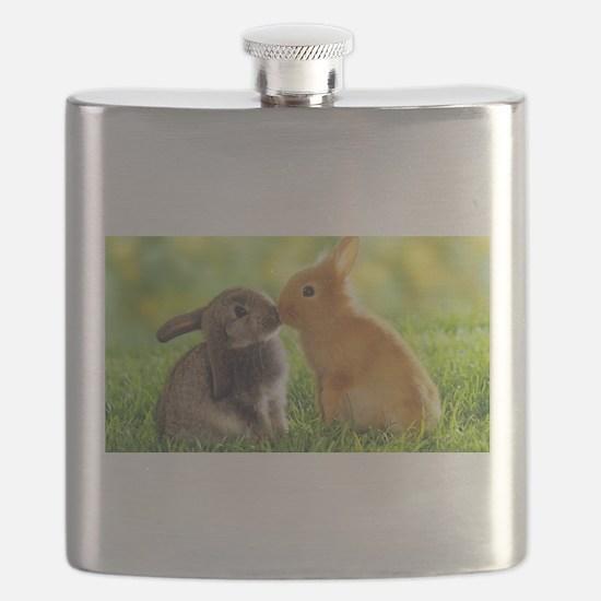 Love Bunnies Flask