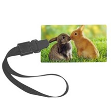 Love Bunnies Luggage Tag