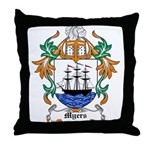 Myers Coat of Arms Throw Pillow