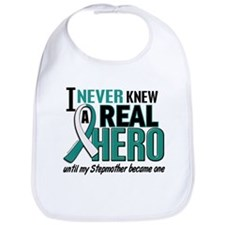 Never Knew a Hero 2 Cervical Cancer Bib