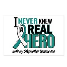 Never Knew a Hero 2 Cervical Cancer Postcards (Pac