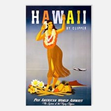 Vintage Chick Hawaii Postcards (Package of 8)