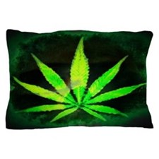 Dark Grunge Weed Pillow Case
