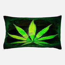 Dark Grunge Weed Pillow Case