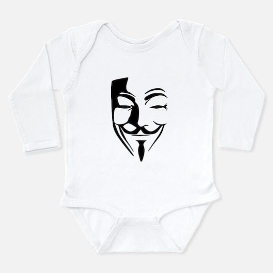 anonymous Long Sleeve Infant Bodysuit