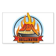 BBQ Grillinator Decal