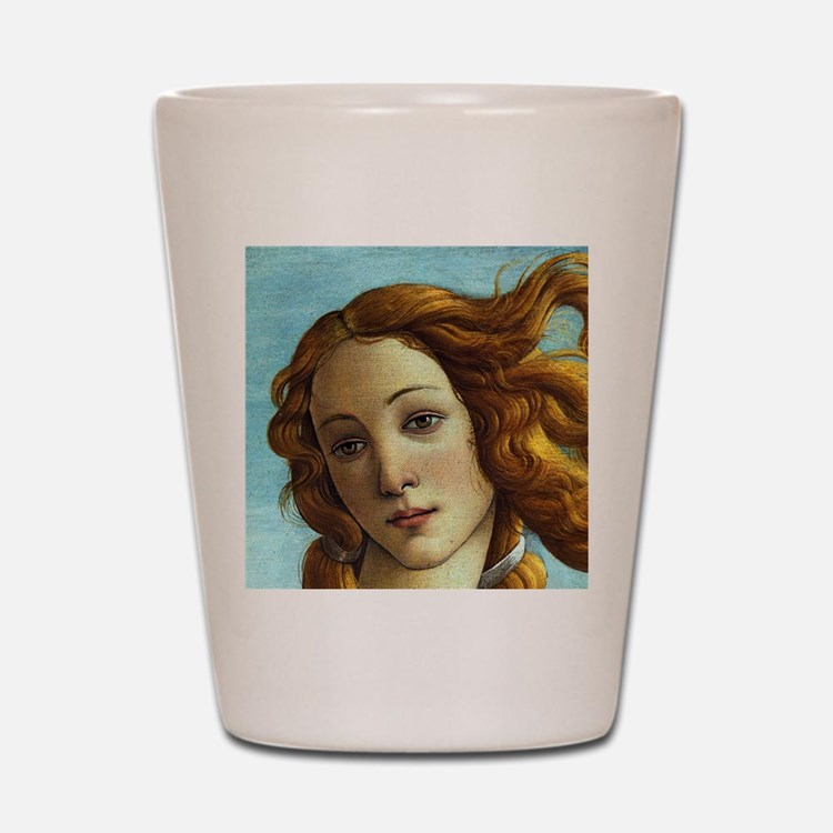 Sandro Botticelli Venus (Detail) Shot Glass
