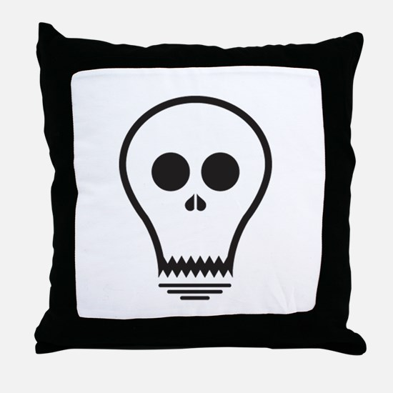 Ghostlight Throw Pillow