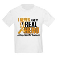 Never Knew a Hero 2 Appendix Cancer T-Shirt