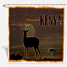 Kenya Shower Curtain