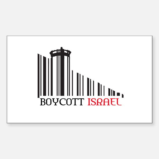 Boycott #X Sticker (Rectangle)