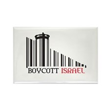 Boycott #X Rectangle Magnet