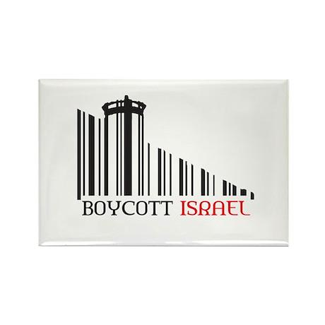 Boycott #X Rectangle Magnet