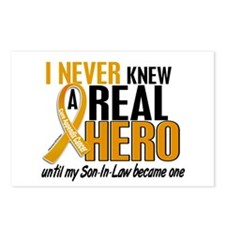 Never Knew a Hero 2 Appendix Cancer Postcards (Pac
