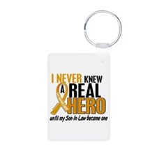 Never Knew a Hero 2 Appendix Cancer Aluminum Photo