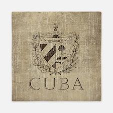 Vintage Cuba Queen Duvet