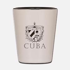 Vintage Cuba Shot Glass