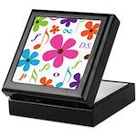 Music Funky Flower Keepsake Box