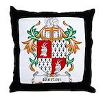Morton Coat of Arms Throw Pillow