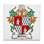 Morton Coat of Arms Tile Coaster